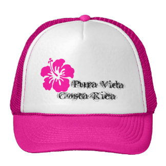 Pura Vida Costa Rica Hibiscus cap