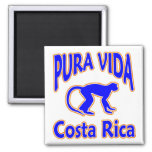 Pura Vida Costa Rica Monkey Magnet