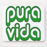 Pura Vida, Costa Rica Mouse Pad