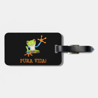 Pura Vida Luggage Tag