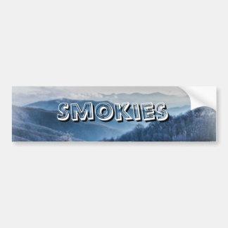 Purchase Knob Winter Scenic View Bumper Sticker