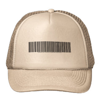 """Purchased by Christ"" Cross Barcode Hat"