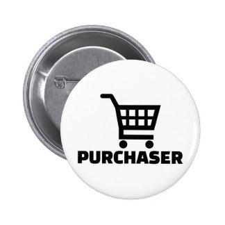 Purchaser 6 Cm Round Badge