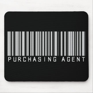 Purchasing Agent Bar Code Mouse Pad