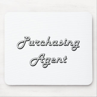 Purchasing Agent Classic Job Design Mouse Pad