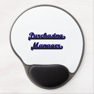 Purchasing Manager Classic Job Design Gel Mouse Pad