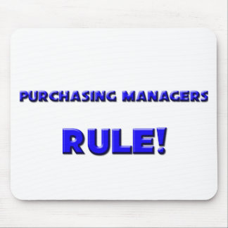 Purchasing Managers Rule! Mouse Pads