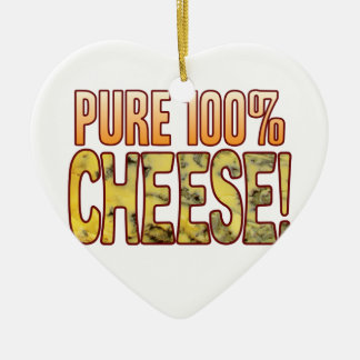 Pure 100 Blue Cheese Ceramic Heart Decoration