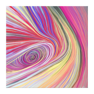 Pure Abstract Stretched Canvas Print