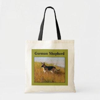 Pure Bred German Shepherd Photo on Bag