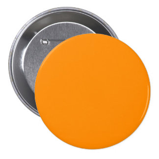 Pure Bright Orange Customized Template Blank 7.5 Cm Round Badge