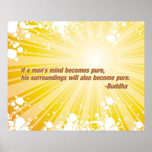 Pure Buddha Posters
