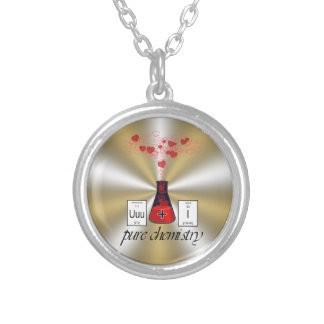 Pure Chemistry Silver Plated Necklace