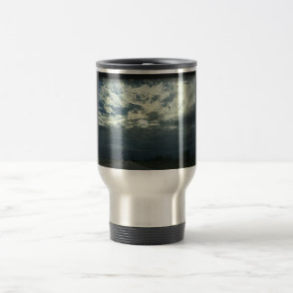 Pure clouds travel mug