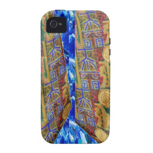 PURE Color REIKI Healing Symbols by MASTER Navin J Case-Mate iPhone 4 Cases