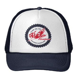 Pure Firebird Racing Gasoline vintage sign Trucker Hat