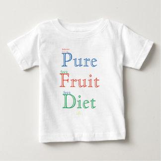 Pure Fruit Diet (colour) Baby T-Shirt