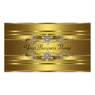 Pure Gold Business Cards