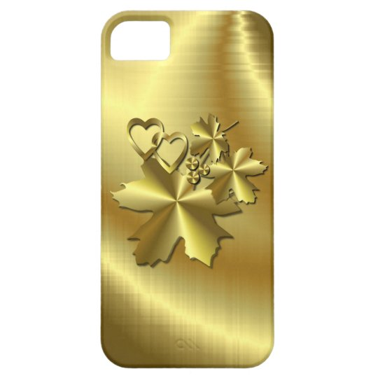 Pure Gold Case For The iPhone 5