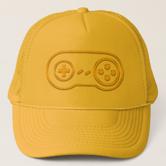 Pure Gold Controller Trucker Hat