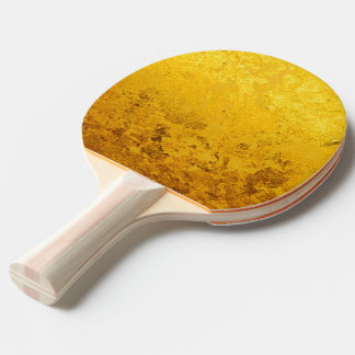 PURE GOLD pattern / gold leaf Ping Pong Paddle