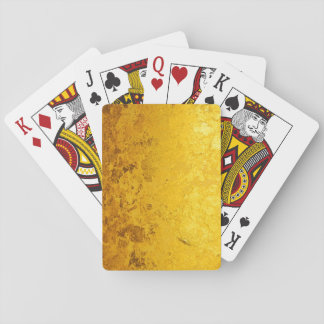 PURE GOLD pattern / gold leaf Playing Cards