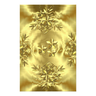 Pure Gold Stationery
