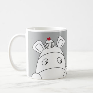 Pure Impossimals® - Great Grey Basic White Mug