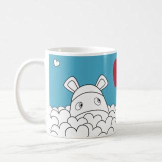 Pure Impossimals® - Skylark Blue Basic White Mug