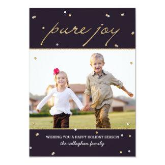 Pure Joy Holiday Photo Card