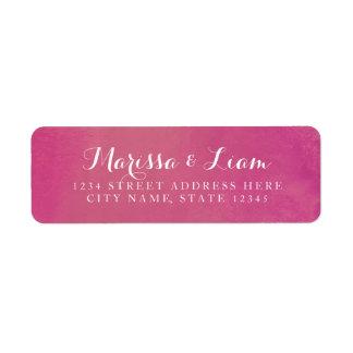 Pure Love Return Address Label / Rose