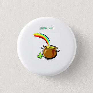 PURE LUCK POT OF GOLD ROUND BUTTON
