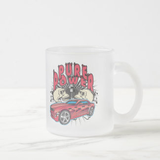 Pure Power Camaro Concept Frosted Glass Coffee Mug