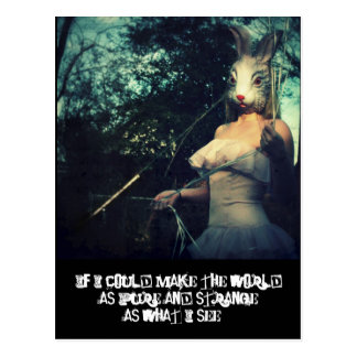pure strange world post cards