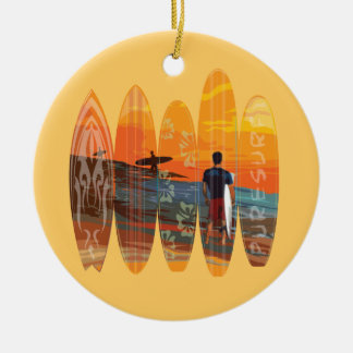 Pure Surfing Christmas Ornament