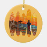 Pure Surfing Ornaments