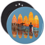 Pure Surfing Pinback Buttons