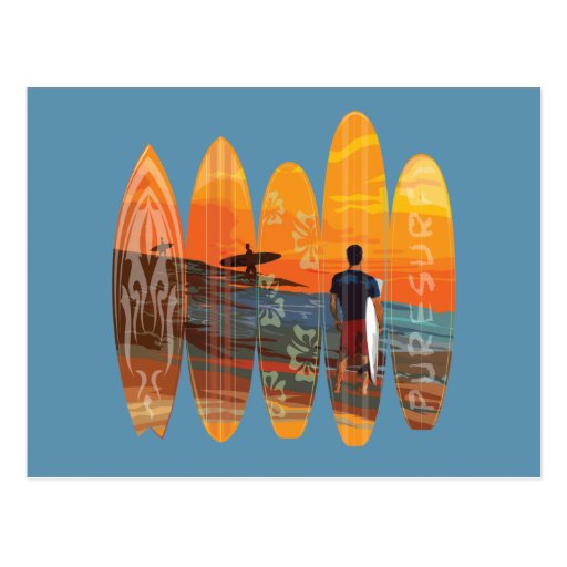 Pure Surfing Post Cards