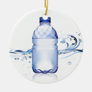 Pure Water Bottle design Christmas Ornament