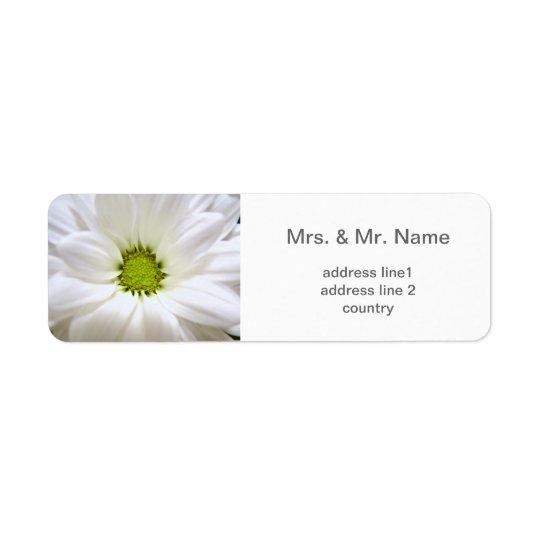 pure white daisy flower wedding