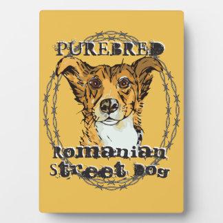 Purebred Romanian Street Dog Plaque