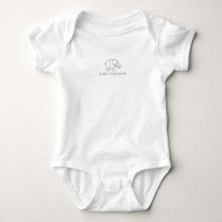 Purely Elephants Baby Bodysuit