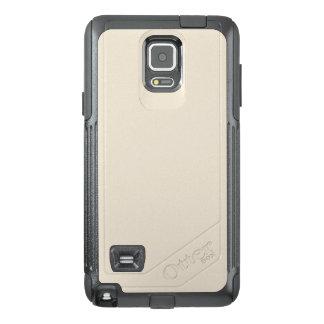 Purely Nostalgic White Color OtterBox Samsung Note 4 Case