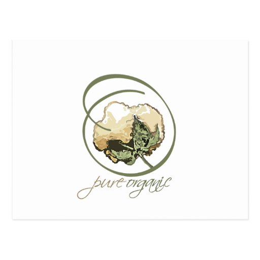 Purely Organic Postcards