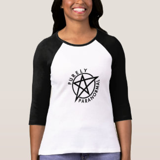 Purely Paranormal Raglan Fitted Tee