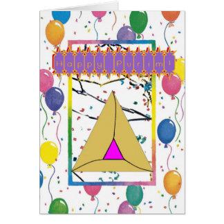 Purim Greeting Card 2