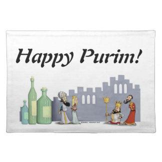 purim placemat