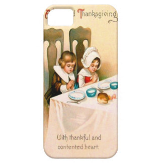Puritan Thanksgiving Dinner iPhone 5 Cover