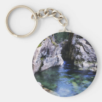 Purity Basic Round Button Key Ring