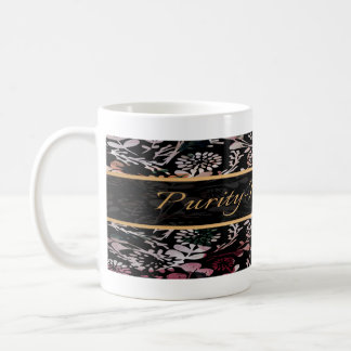 PURITY - PSALM 119:9 (FIELD FLORAL) COFFEE MUG